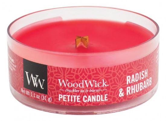 Aromatická svíčka, WoodWick Petite Radish and Rhubarb, hoření až 8 hod-88