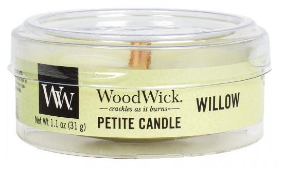 Aromatická svíčka, WoodWick Petite Willow, hoření až 8 hod-619