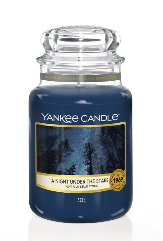 Aromatická svíčka, Yankee Candle A Night Under The Stars, hoření až 150 hod-4921