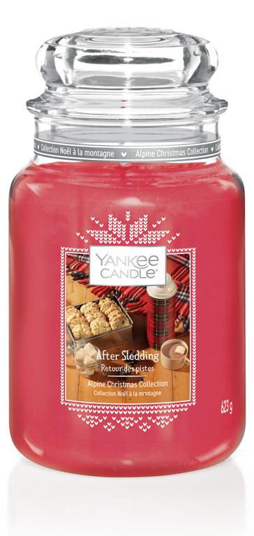 Aromatická svíčka, Yankee Candle After Sledding, hoření až 150 hod