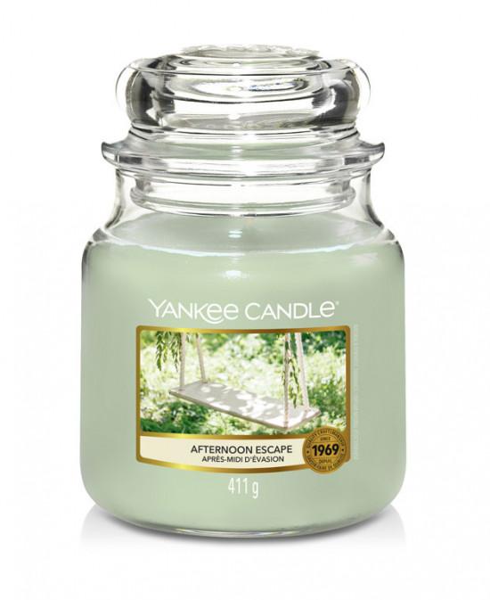 Aromatická svíčka, Yankee Candle Afternoon Escape, hoření až 75 hod