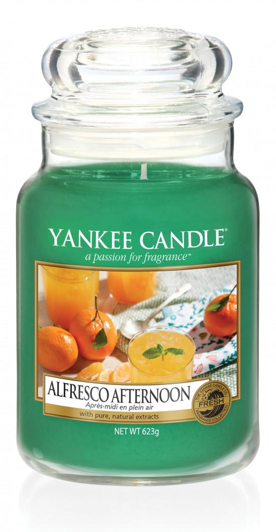 Aromatická svíčka, Yankee Candle Alfresco Afternoon, hoření až 150 hod-209