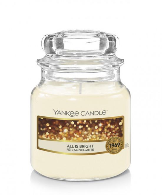 Aromatická svíčka, Yankee Candle All is Bright, hoření až 30 hod-4812