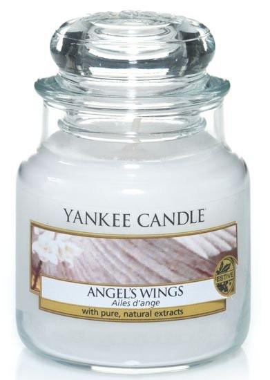 Aromatická svíčka, Yankee Candle Angel's Wings, hoření až 30 hod-1094