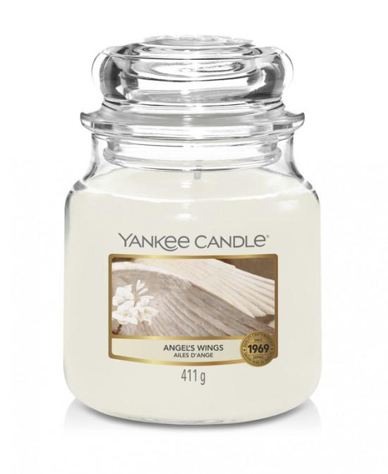 Aromatická svíčka, Yankee Candle Angel's Wings, hoření až 75 hod-4791