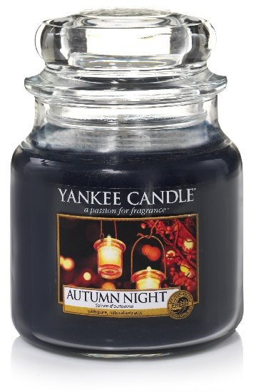 Aromatická svíčka, Yankee Candle Autumn Night, hoření až 75 hod-4810