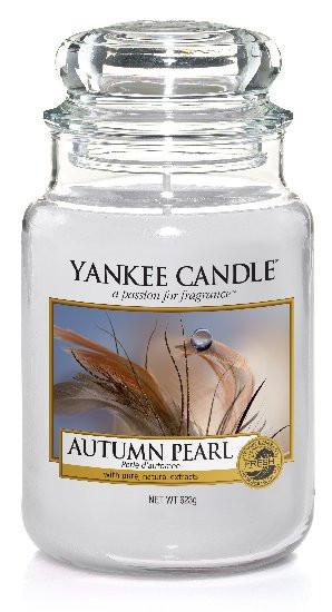 Aromatická svíčka, Yankee Candle Autumn Pearl, hoření až 150 hod-303