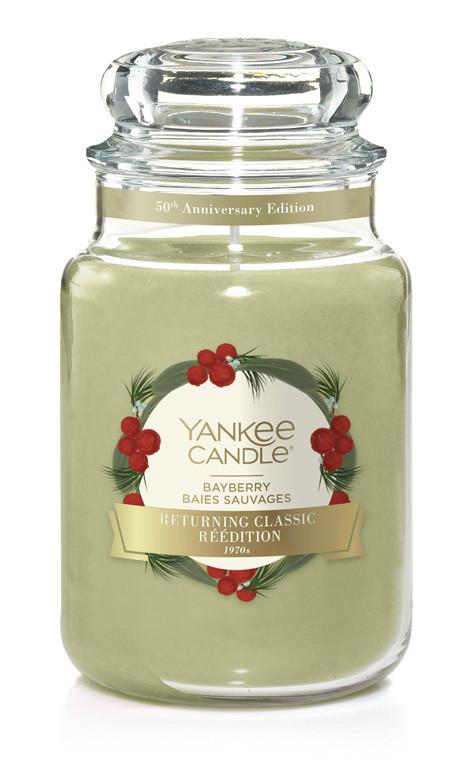 Aromatická svíčka, Yankee Candle Bayberry, hoření až 150 hod-749