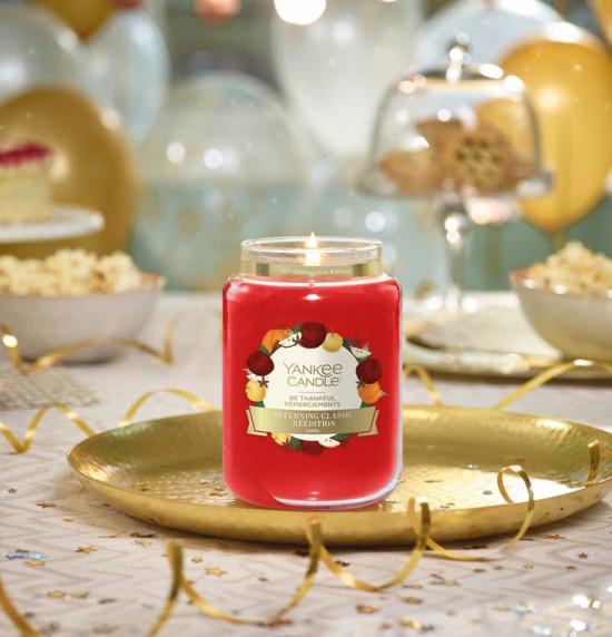 Aromatická svíčka, Yankee Candle Be Thankful, hoření až 150 hod-4858
