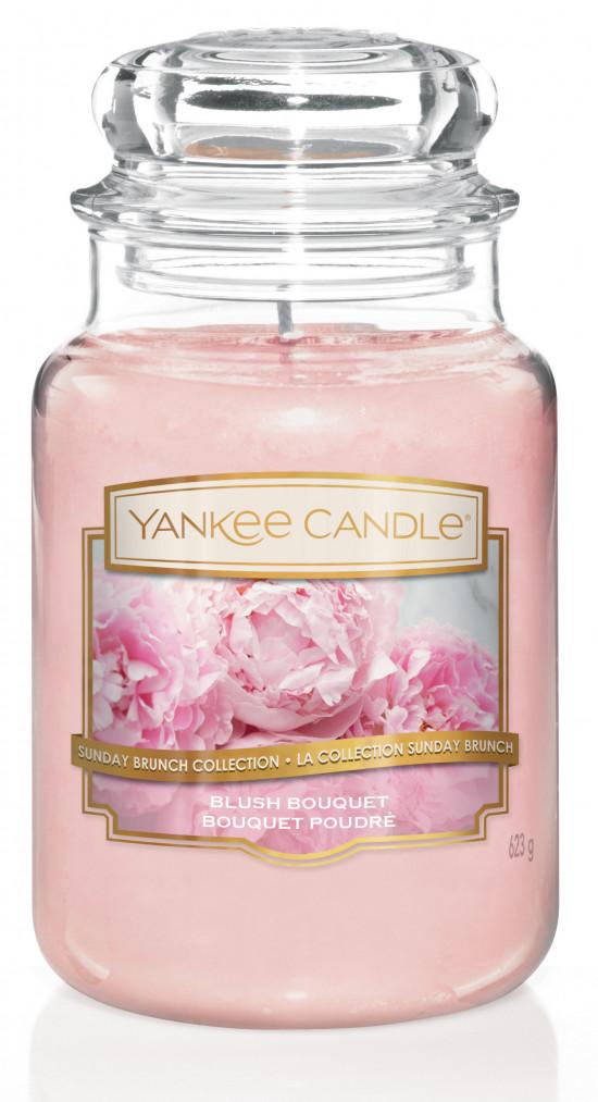 Aromatická svíčka, Yankee Candle Blush Bouquet, hoření až 150 hod-879