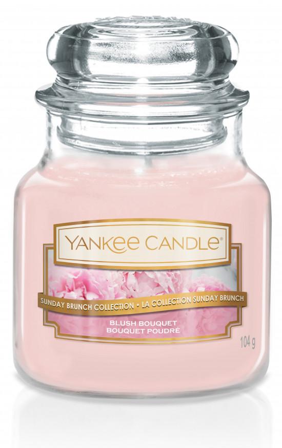 Aromatická svíčka, Yankee Candle Blush Bouquet, hoření až 30 hod