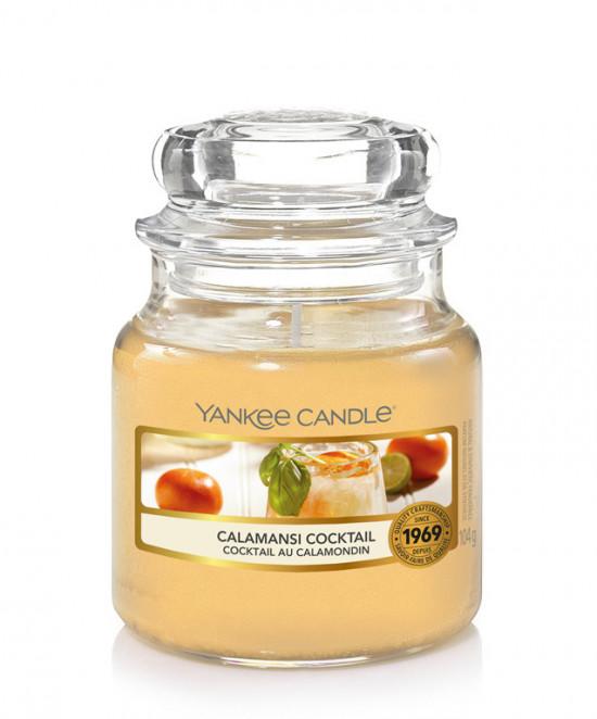 Aromatická svíčka, Yankee Candle Calamansi Cocktail, hoření až 30 hod-4884