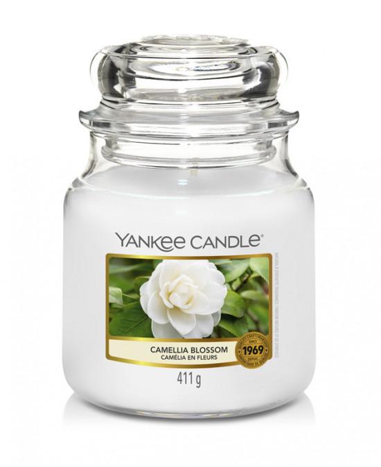 Aromatická svíčka, Yankee Candle Camellia Blossom, hoření až 75 hod-57