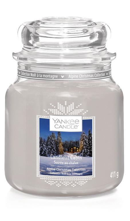 Aromatická svíčka, Yankee Candle Candlelit Cabin, hoření až 75 hod-45