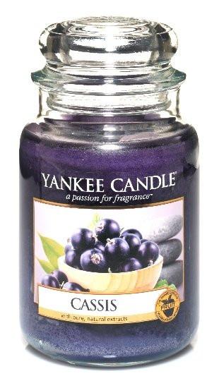 Aromatická svíčka, Yankee Candle Cassis, hoření až 150 hod-4795