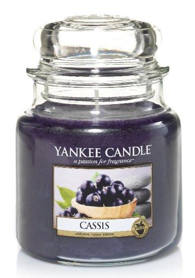 Aromatická svíčka, Yankee Candle Cassis, hoření až 75 hod-4796