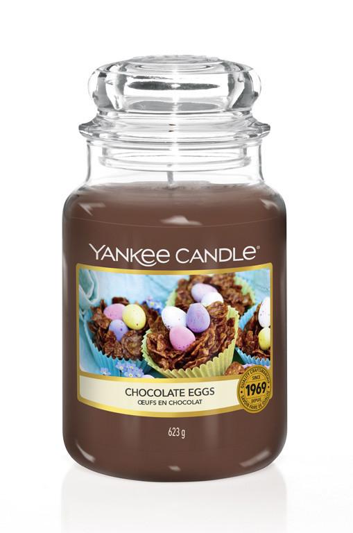 Aromatická svíčka, Yankee Candle Chocolate Eggs, hoření až 150 hod