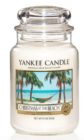 Aromatická svíčka, Yankee Candle Christmas At The Beach, hoření až 150 hod-4840