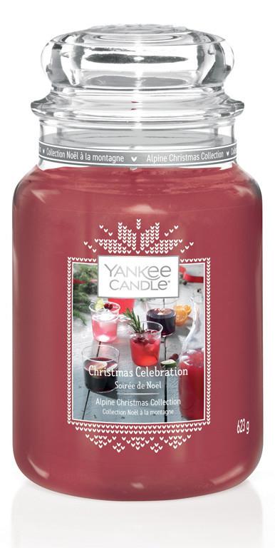 Aromatická svíčka, Yankee Candle Christmas Celebration, hoření až 150 hod