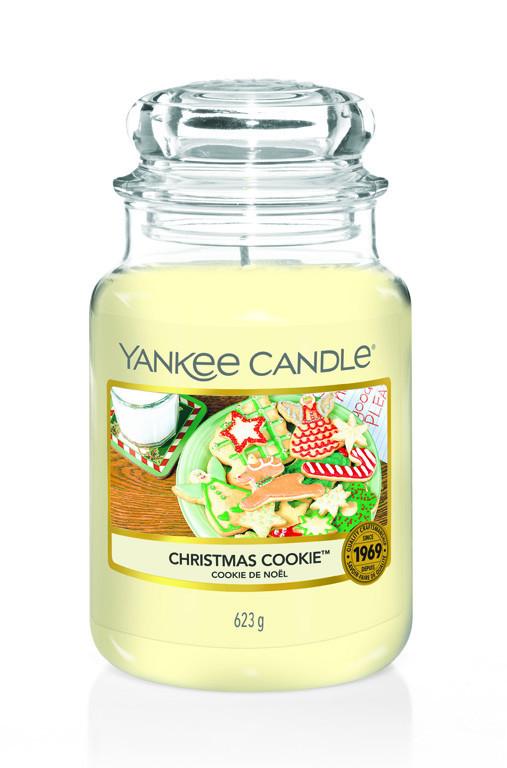 Aromatická svíčka, Yankee Candle Christmas Cookie, hoření až 150 hod-4786