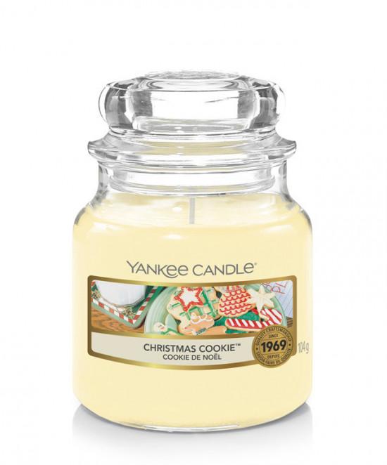 Aromatická svíčka, Yankee Candle Christmas Cookie, hoření až 30 hod-4770