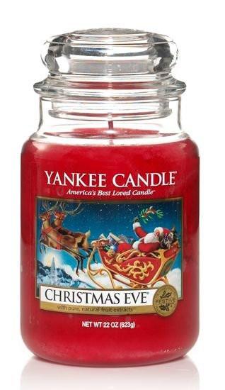 Aromatická svíčka, Yankee Candle Christmas Eve, hoření až 150 hod-1174