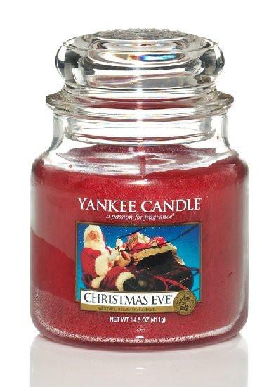 Aromatická svíčka, Yankee Candle Christmas Eve, hoření až 75 hod-430