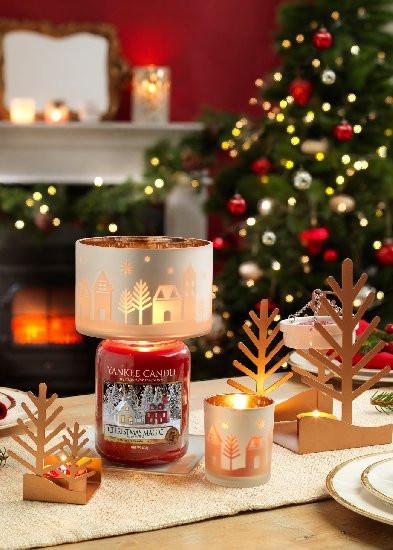 Aromatická svíčka, Yankee Candle Christmas Magic, hoření až 150 hod-4819