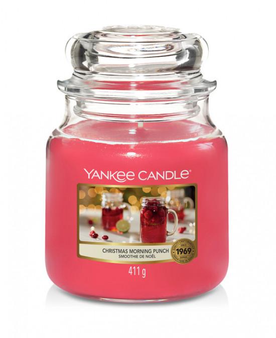 Aromatická svíčka, Yankee Candle Christmas Morning Punch, hoření až 75 hod-4956