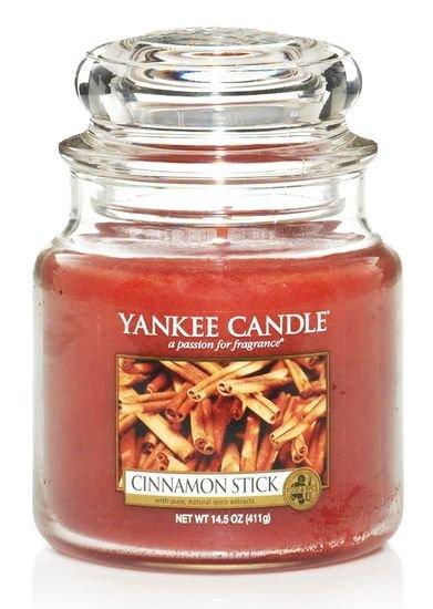 Aromatická svíčka, Yankee Candle Cinnamon Stick, hoření až 75 hod-1000