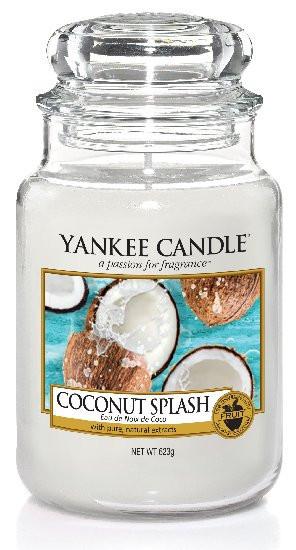 Aromatická svíčka, Yankee Candle Coconut Splash, hoření až 150 hod-50