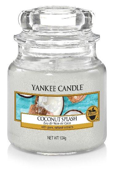 Aromatická svíčka, Yankee Candle Coconut Splash, hoření až 30 hod