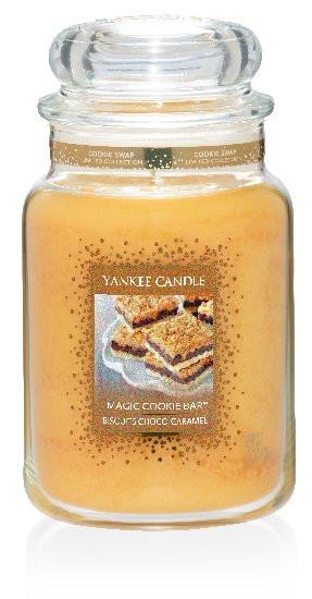 Aromatická svíčka, Yankee Candle Cookie Swap Magic Cookie Bar, hoření až 150 hod-4823
