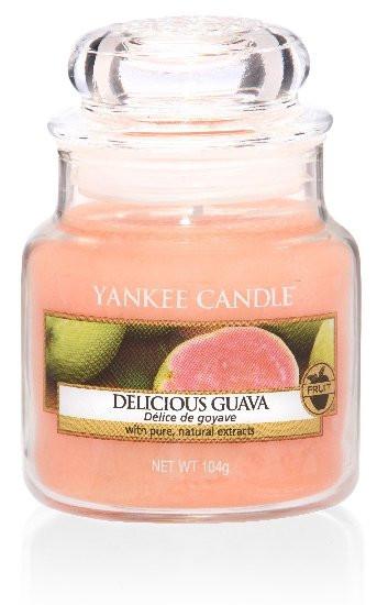 Aromatická svíčka, Yankee Candle Delicious Guava, hoření až 30 hod-868