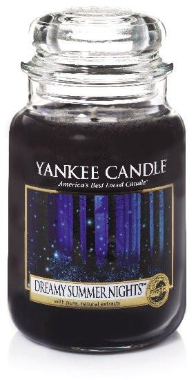 Aromatická svíčka, Yankee Candle Dreamy Summer Nights, hoření až 150 hod