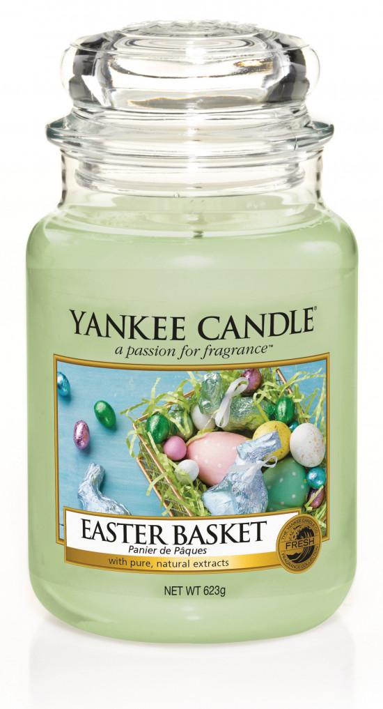 Aromatická svíčka, Yankee Candle Easter Basket, hoření až 150 hod-4849