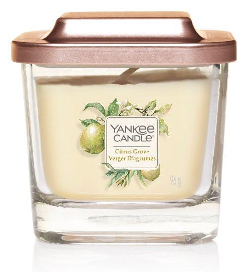 Aromatická svíčka, Yankee Candle Elevation Citrus Grove, hoření až 28 hod-928