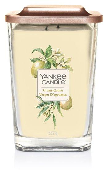 Aromatická svíčka, Yankee Candle Elevation Citrus Grove, hoření až 80 hod-611