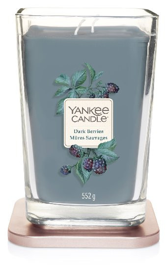 Aromatická svíčka, Yankee Candle Elevation Dark Berries, hoření až 80 hod-593