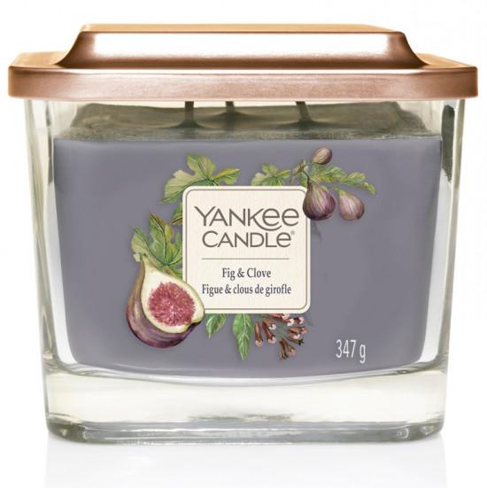 Aromatická svíčka, Yankee Candle Elevation Fig & Clove, hoření až 38 hod-1167