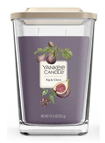 Aromatická svíčka, Yankee Candle Elevation Fig & Clove, hoření až 80 hod