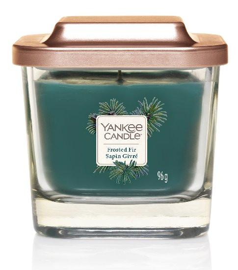 Aromatická svíčka, Yankee Candle Elevation Frosted Fir Sapin Givré, hoření až 28 hod-1145