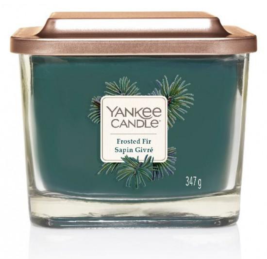 Aromatická svíčka, Yankee Candle Elevation Frosted Fir Sapin Givré, hoření až 38 hod-234