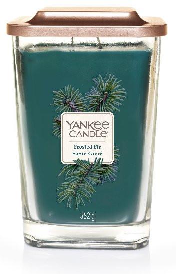 Aromatická svíčka, Yankee Candle Elevation Frosted Fir Sapin Givré, hoření až 80 hod-92