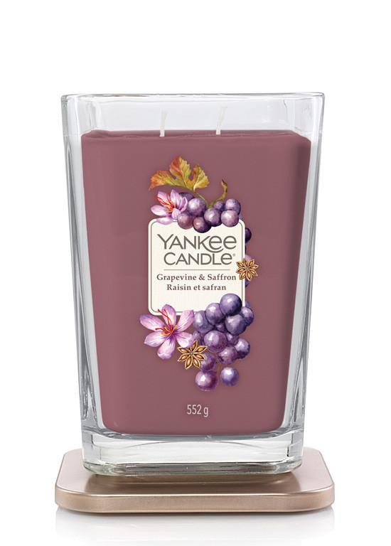 Aromatická svíčka, Yankee Candle Elevation Grapevine & Saffron, hoření až 80 hod-4946