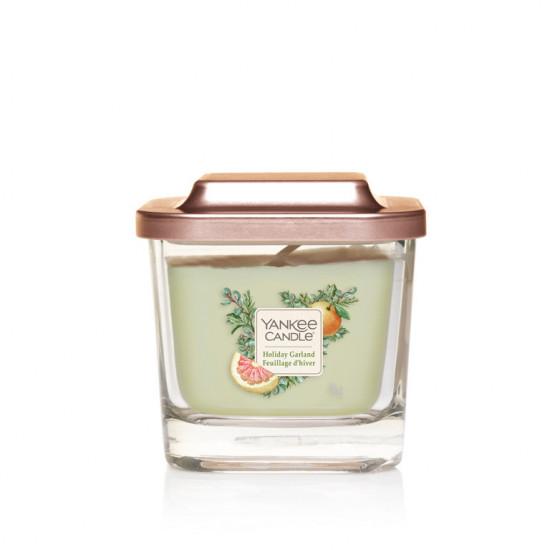 Aromatická svíčka, Yankee Candle Elevation Holiday Garland, hoření až 28 hod