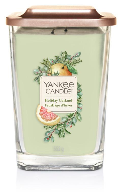 Aromatická svíčka, Yankee Candle Elevation Holiday Garland, hoření až 80 hod-542