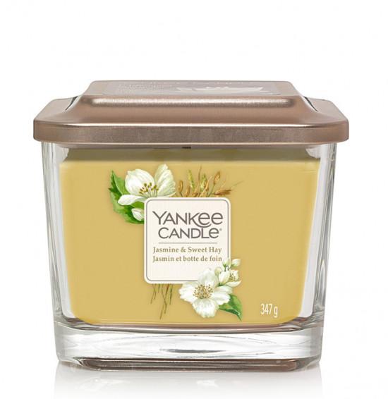 Aromatická svíčka, Yankee Candle Elevation Jasmine & Sweet Hay, hoření až 38 hod-4935