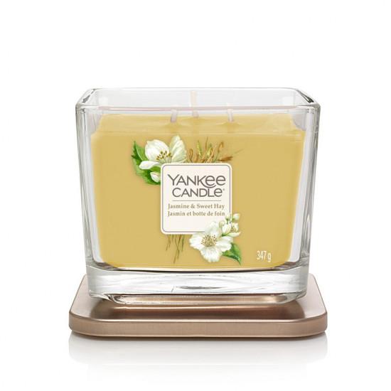 Aromatická svíčka, Yankee Candle Elevation Jasmine & Sweet Hay, hoření až 38 hod-4936