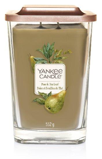 Aromatická svíčka, Yankee Candle Elevation Pear & Tea Leaf, hoření až 80 hod